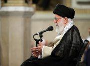 رهبر معظم انقلاب در دیدار با مسئولان نظام و سفرای کشورهای اسلامی: